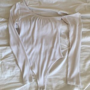 Forever 21 asymmetrical body suit WORN ONCE